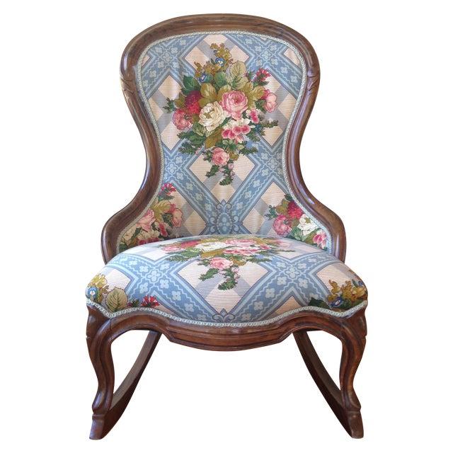 Victorian Ladies' Slipper Rocking Chair - Image 1 of 10