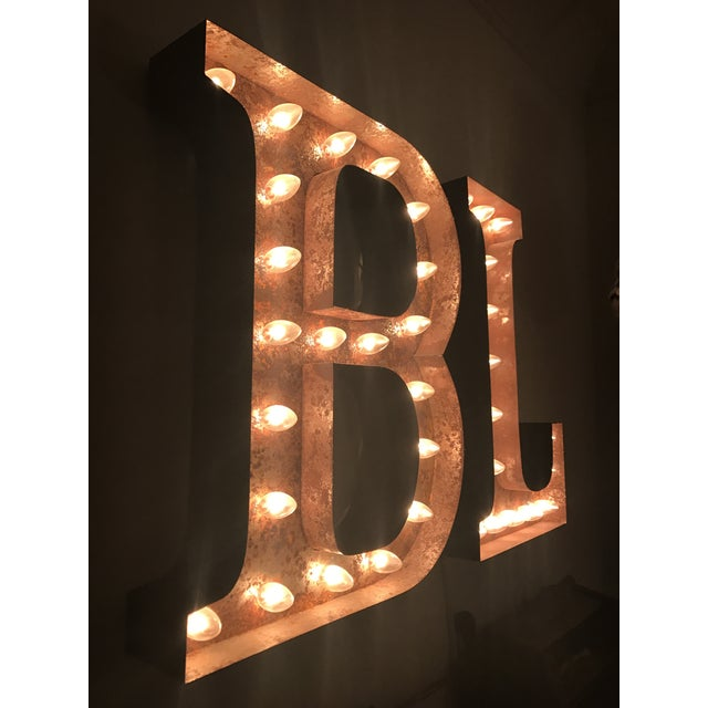 Vintage B & L Marquee Lights - A Pair - Image 3 of 5