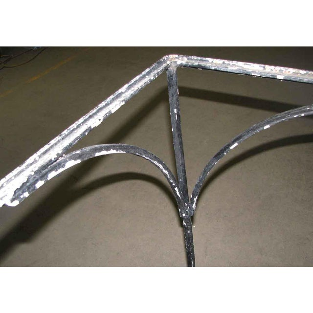 Wrought Iron Patio Table For Sale - Image 6 of 9