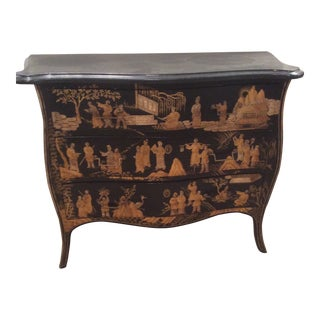 Chinoiserie Marble Top Chest For Sale