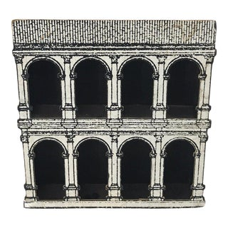 Fornasetti Style Architectural 8 Arch Display For Sale