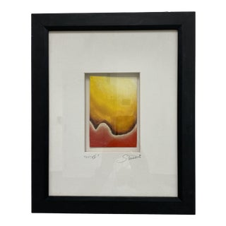 Steven J Carter Custom Framed Original Oil Painting Signed by the Artist For Sale