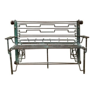 Industrial Brass Bench