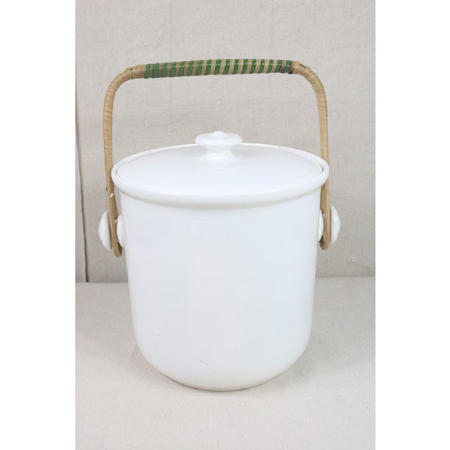 Late 19th Century French Ironstone Covered Bucket For Sale - Image 9 of 9