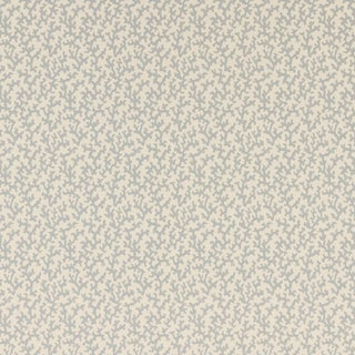 Sample - Schumacher Folly Wallpaper in Orpington Blue For Sale
