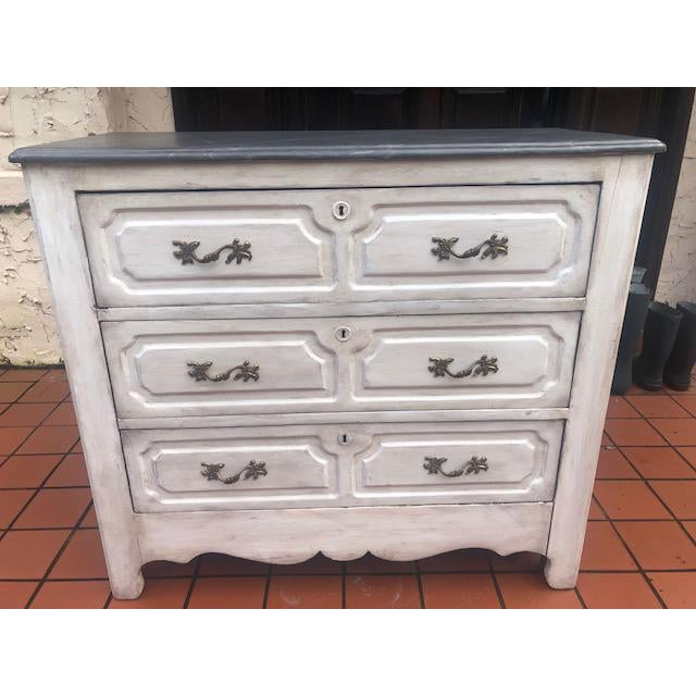 White 19th Century White Painted Chest For Sale - Image 8 of 8