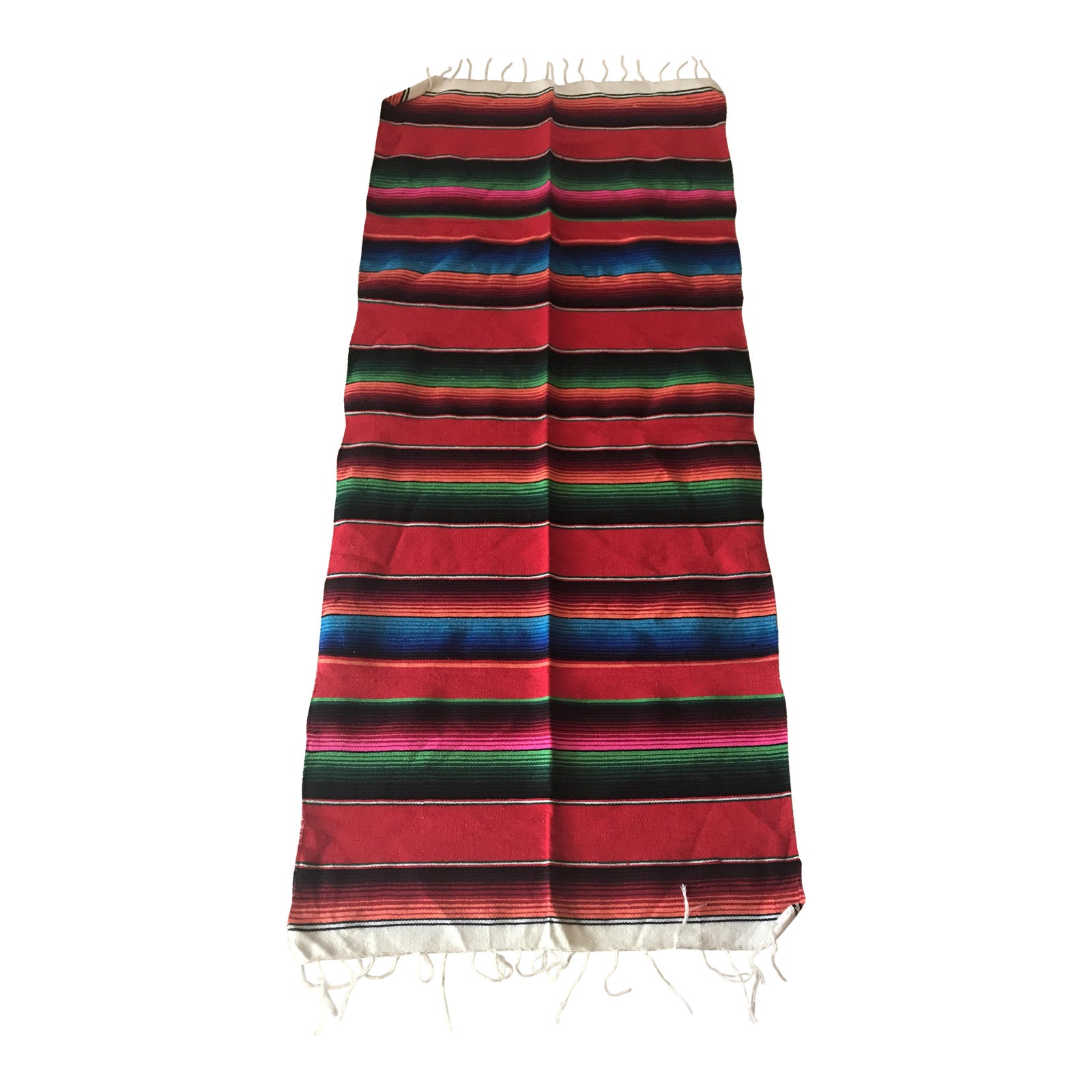 Enjoyable Mexican Blanket Table Runner Download Free Architecture Designs Intelgarnamadebymaigaardcom