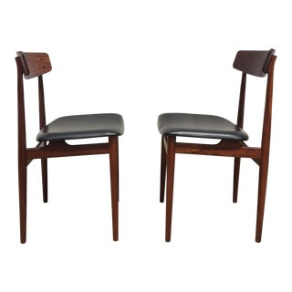 "Fredrik Kayser for Viken Møbelfabrikk Norway ""Hertug"" Chairs in Rosewood - a Pair For Sale"