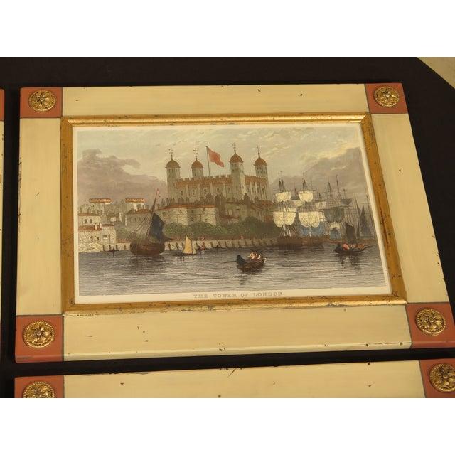 William King W. King Ambler 'London Views' Framed Prints - Set of 4 For Sale - Image 4 of 13