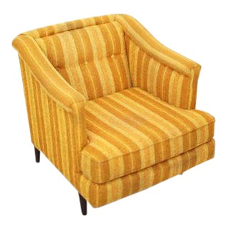 Edward Wormley Lounge Chair for Dunbar, Reupholstery Needed For Sale