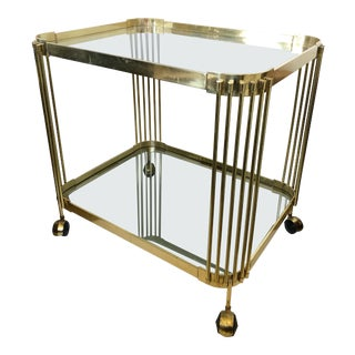 Italian Deco Bar Cart