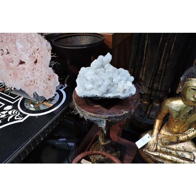 Contemporary Blue Celestite Quartz Table Top Crystal For Sale - Image 3 of 4