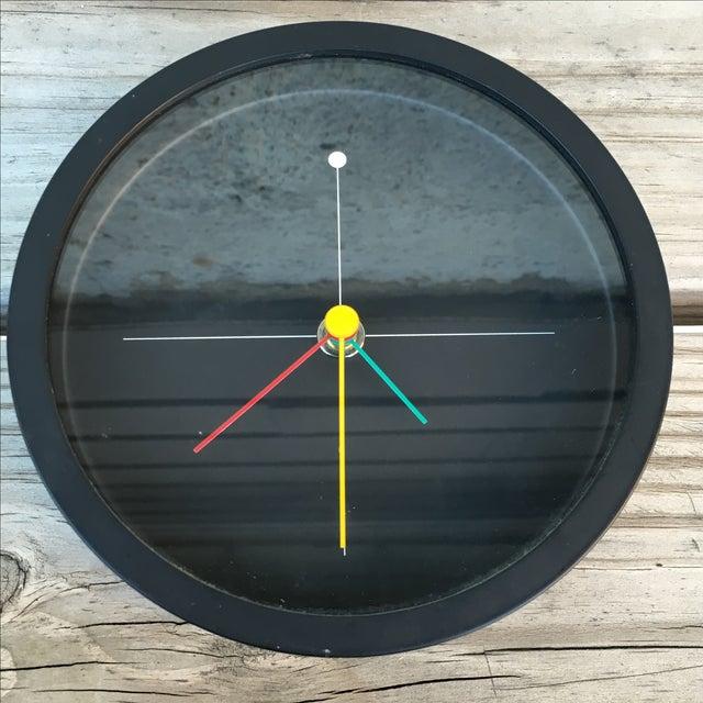 Syohei Mihara Vintage Wakita Memphis Wall Clock - Image 2 of 5