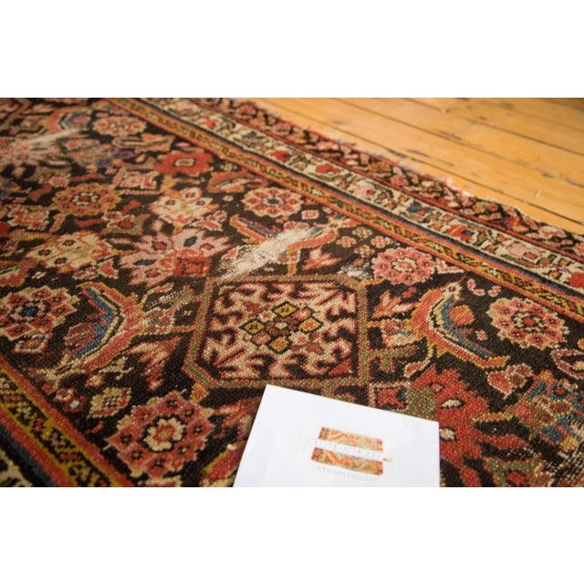 "Antique Distressed Rug Runner - 2'11"" X 12'8"" - Image 10 of 10"