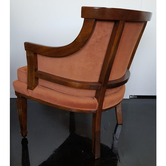 Mid-Century Neoclassical Revival Arm Chairs - a Pair For Sale In Salt Lake City - Image 6 of 10