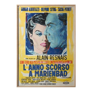 1960s Massive International Film Poster, Framed For Sale