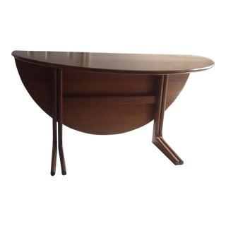 Vintage Teak Wood Dining Table