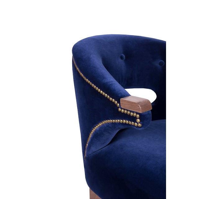 Nanook Bar Chair From Covet Paris For Sale - Image 6 of 7