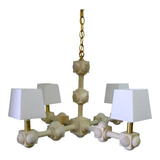 Foursquare Chandelier by Paul Marra For Sale
