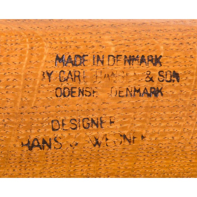 Hans Wegner Ch-25 Lounge Chair For Sale - Image 10 of 10