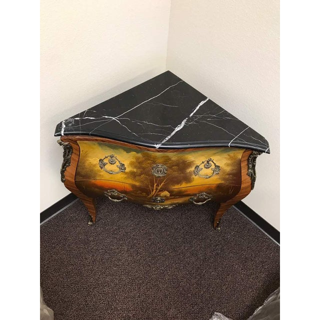 French French Style Corner Drawer For Sale - Image 3 of 5