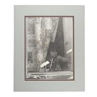 Black & White Photograph of Little Girl For Sale
