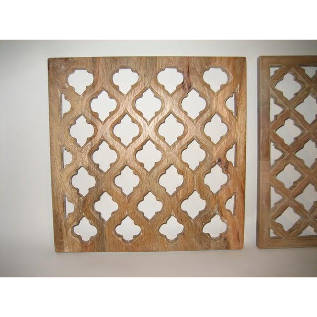 Decorative Wood Panels - Set of 3 - Image 3 of 11