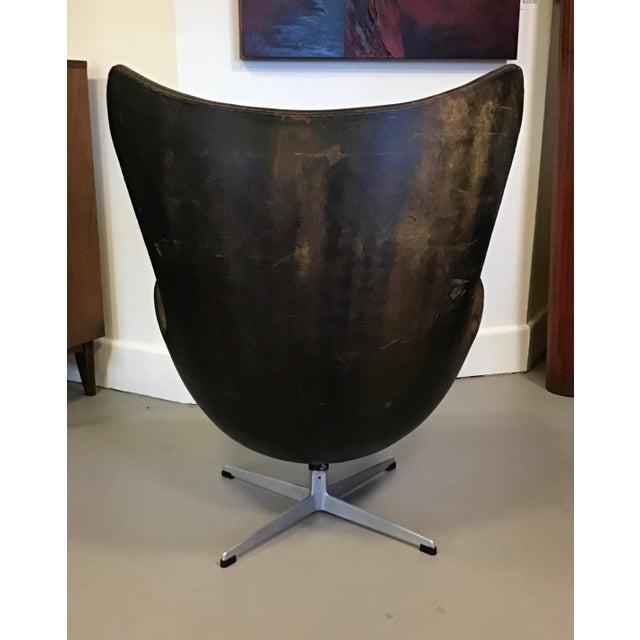 Early Arne Jacobsen for Fritz Hansen Egg Chair For Sale In Denver - Image 6 of 10