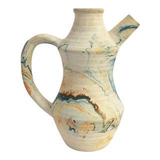 Vintage Nemadji Pottery Pitcher