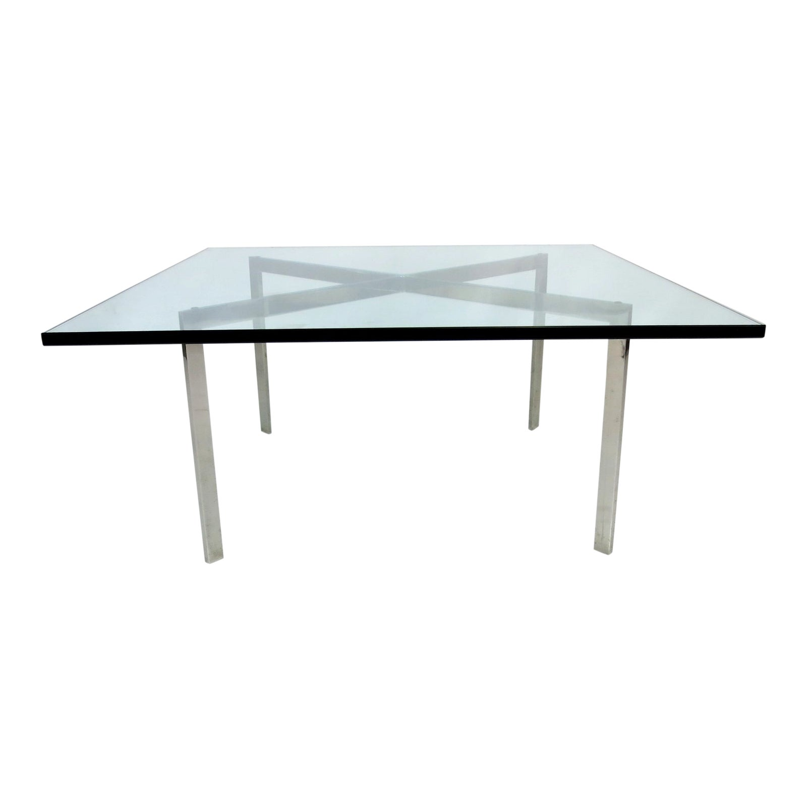 World Class Early Barcelona Coffee Table By Mies Van Der