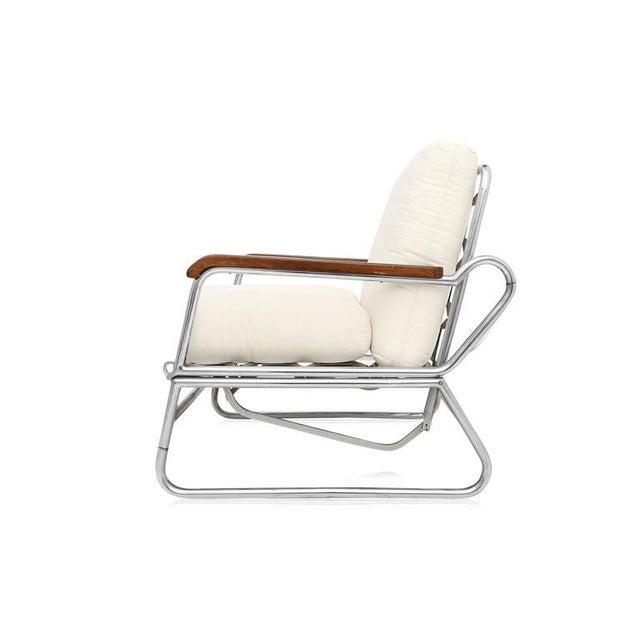 1950s 1950s Italian Swimming Pool Chaise Lounge Chair For Sale - Image 5 of 11