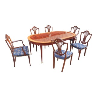 Baker Furniture Historical Charleston Dining Set For Sale