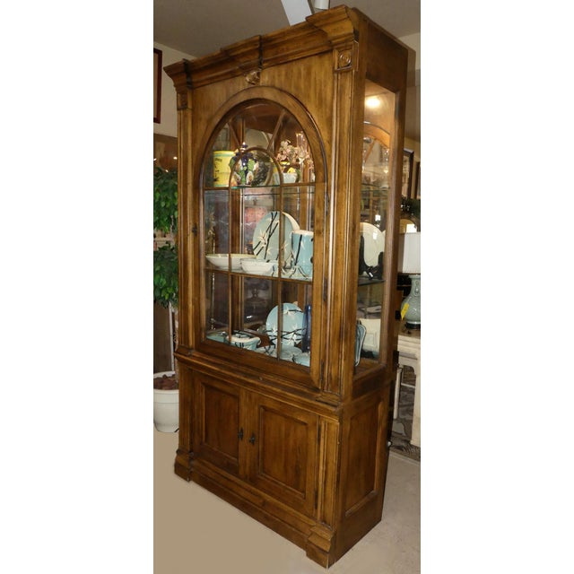 Lexington Furniture Southern Living Lighted China Cabinet For Sale - Image 11 of 11