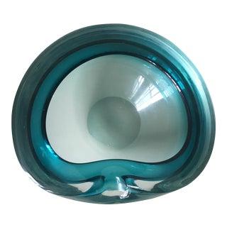 Flavio Poli for Seguso Vetri d'Art Sommerso Bowl For Sale