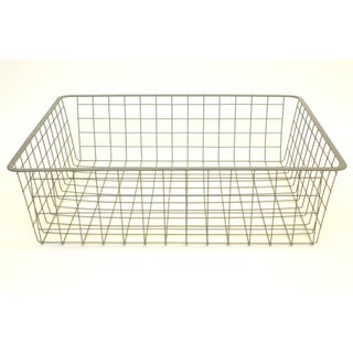 Vintage Wire Storage Crate Preview