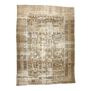 Late 19th Century Antique Persian Sultanabad Rug - 11'00 X 15'00 For Sale