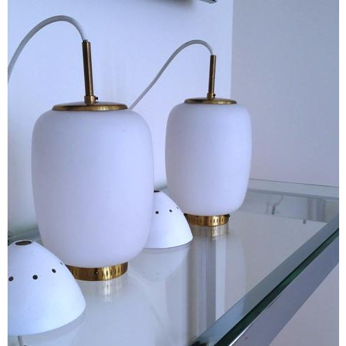 Bent Karlby China-Lamps - A Pair - Image 5 of 5