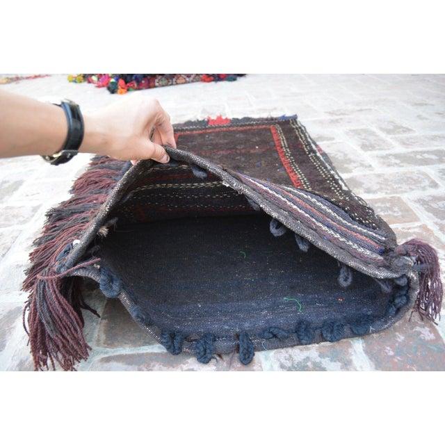 Decorative Handmade Floor Cushion For Sale - Image 5 of 6