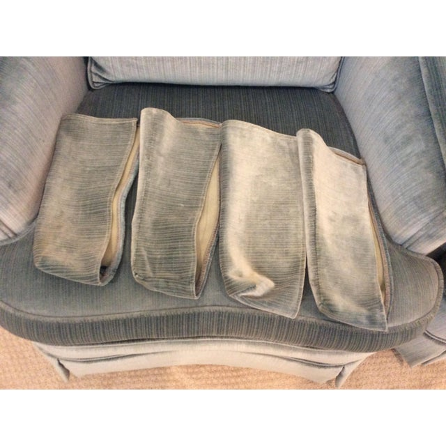 1970s Vintage Drexel Heritage Armchairs - a Pair For Sale - Image 10 of 13
