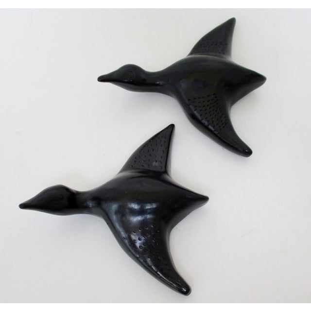 Oaxacan Ceramic Hanging Geese, a Pair - Image 6 of 7