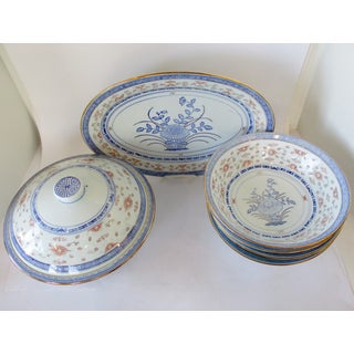 Chinese Porcelain Serveware, 6 Pieces Preview