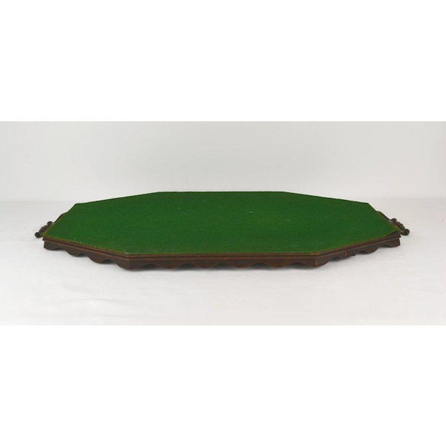 Traditional Oyster Veneer Tray For Sale - Image 3 of 13