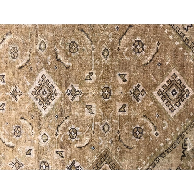 Antique Persian Malayer Runner Rug - 6′7″ × 9′10″ - Image 4 of 9