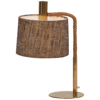 Elegant Fine Minet Rope Table Lamp by Adrien Audoux For Sale