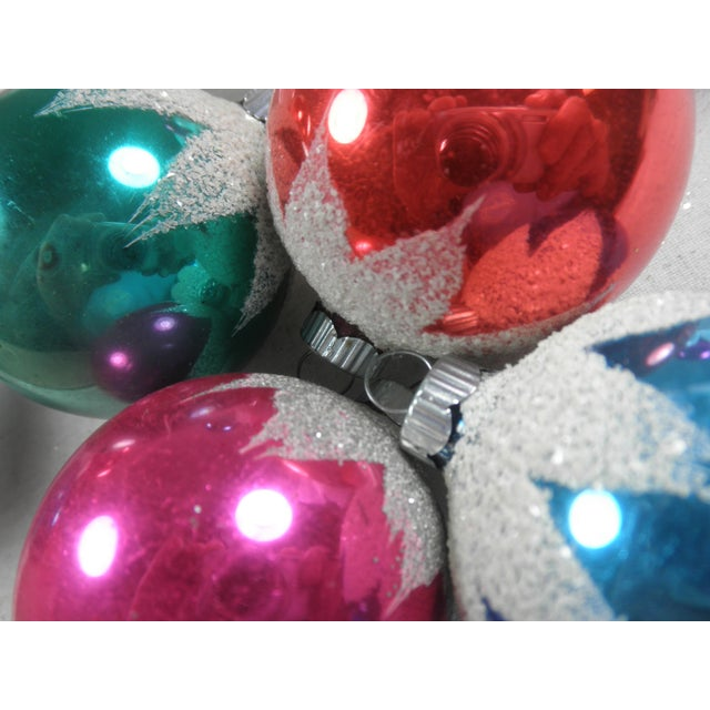 Snowcap Ornaments - Set of 8 - Image 3 of 4