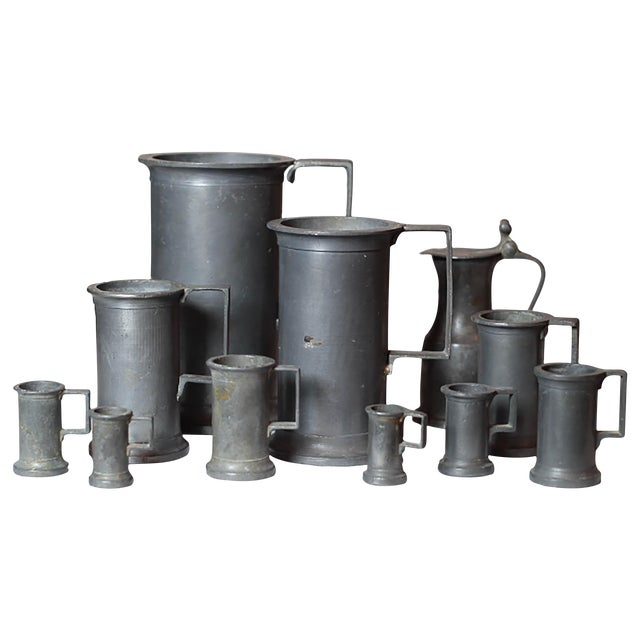 Pewter Vessel Collection- Set of 11 - Image 1 of 6