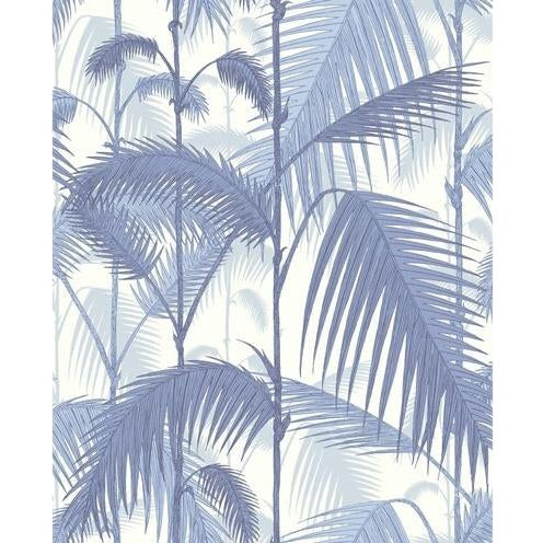 Cole & Son Palm JungleWallpaper Roll - Blues/ White For Sale