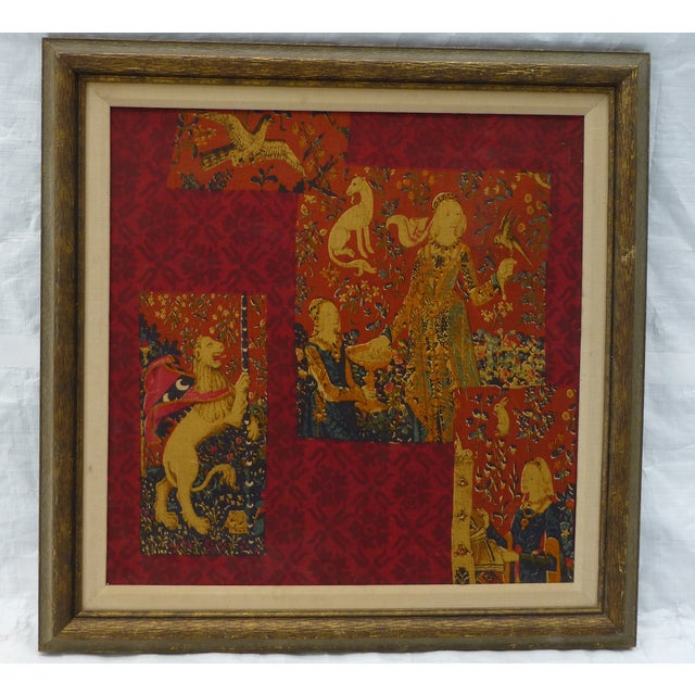 English Country Framed Tapestry - A Pair For Sale - Image 5 of 11