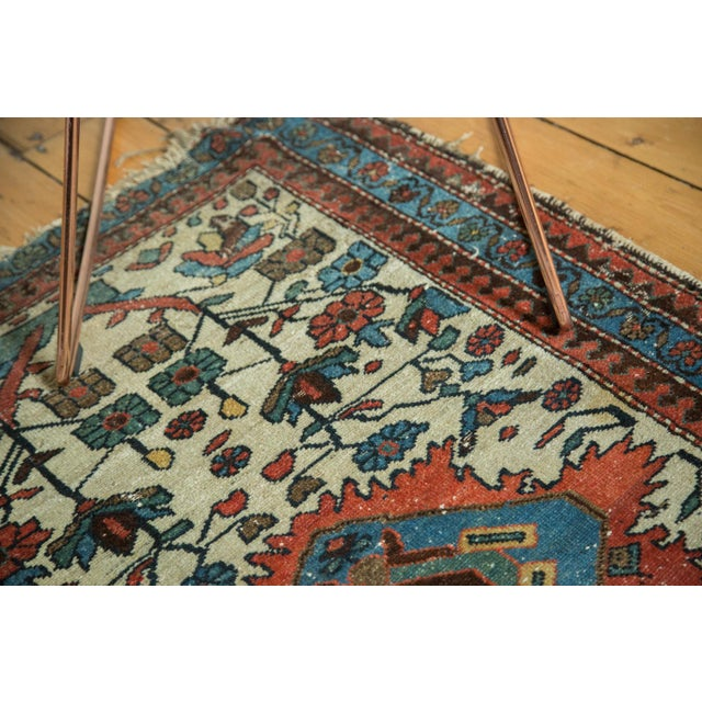"White Vintage Malayer Rug - 2'10"" x 4'5"" For Sale - Image 8 of 9"