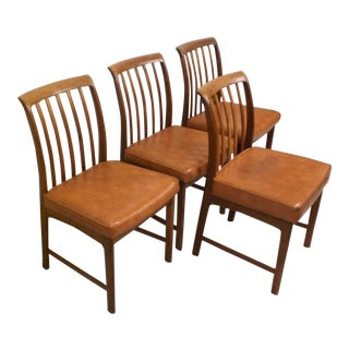DUX Danish Modern Chairs - Set of 4 For Sale